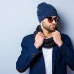 Jaki szal męski do płaszcza?